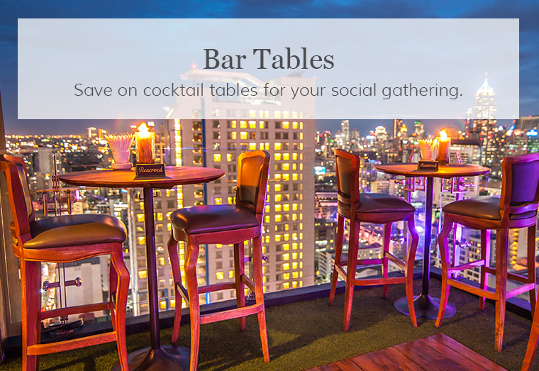 Cocktail Bar Tables