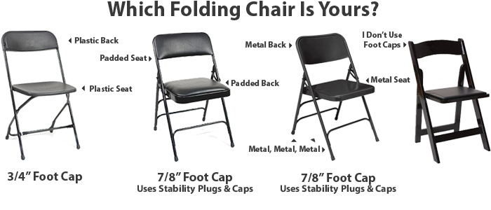 Which Parts You Need For Your Folding Chairs   FoldingChairsandTables.com