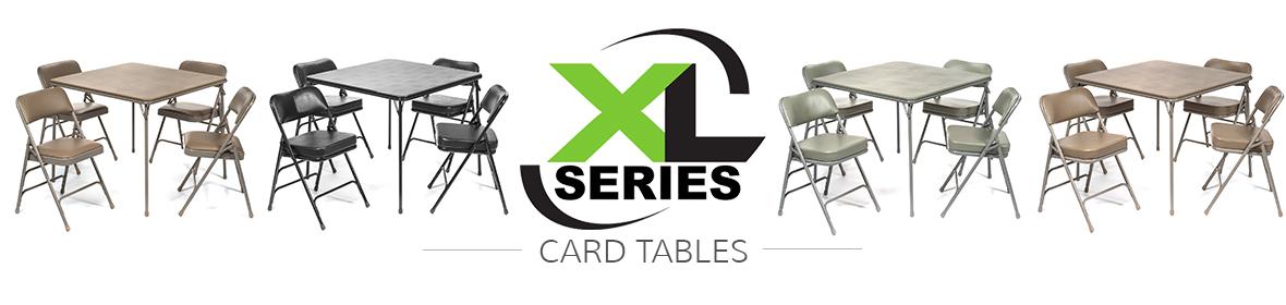 XL Series Card Tables